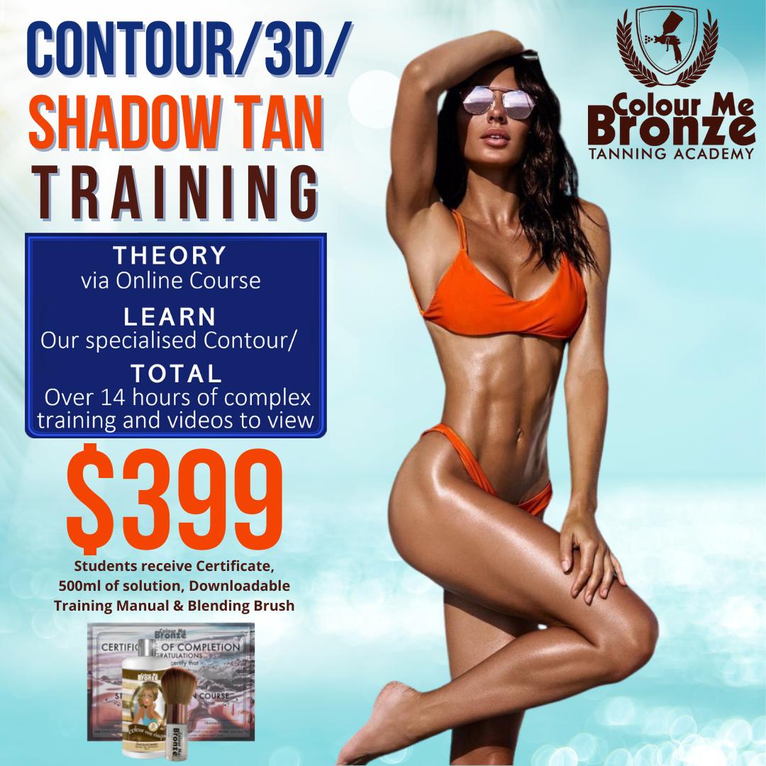 Contour/3D/Shadow Tan Training